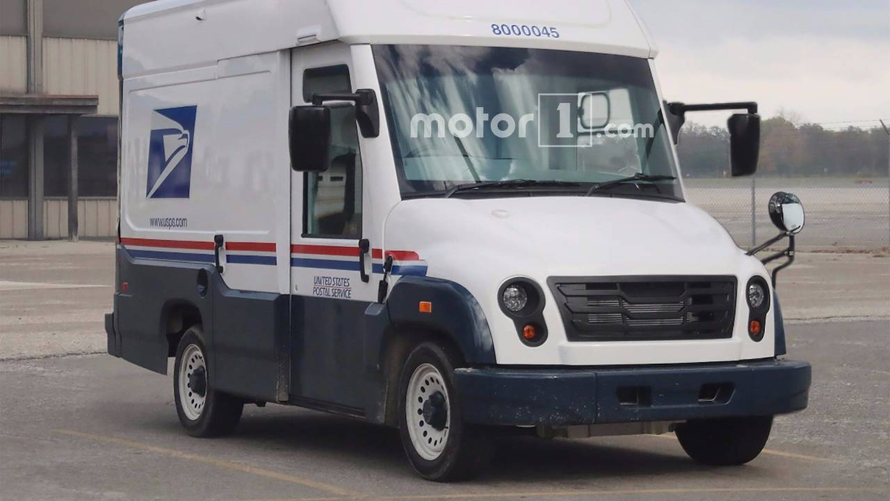 Mahindra USPS Mail Truck