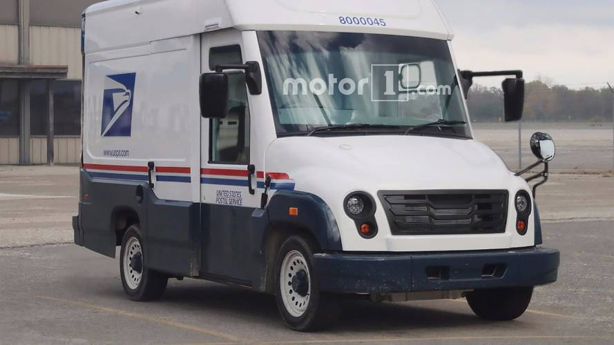 Mahindra's USPS Mail Truck Prototype Spotted Stateside
