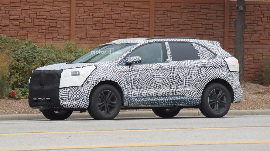 2019 Ford Edge Spied Showing Off New Details
