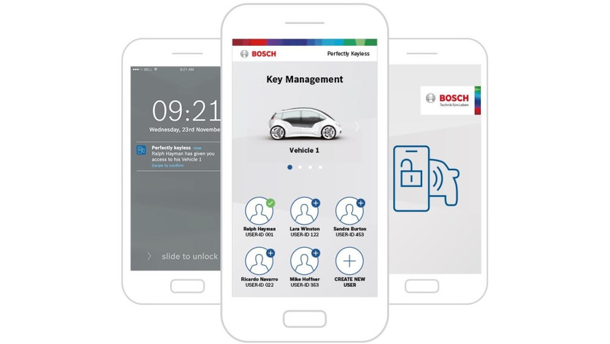BOSCH convierte el smartphone en la llave del coche