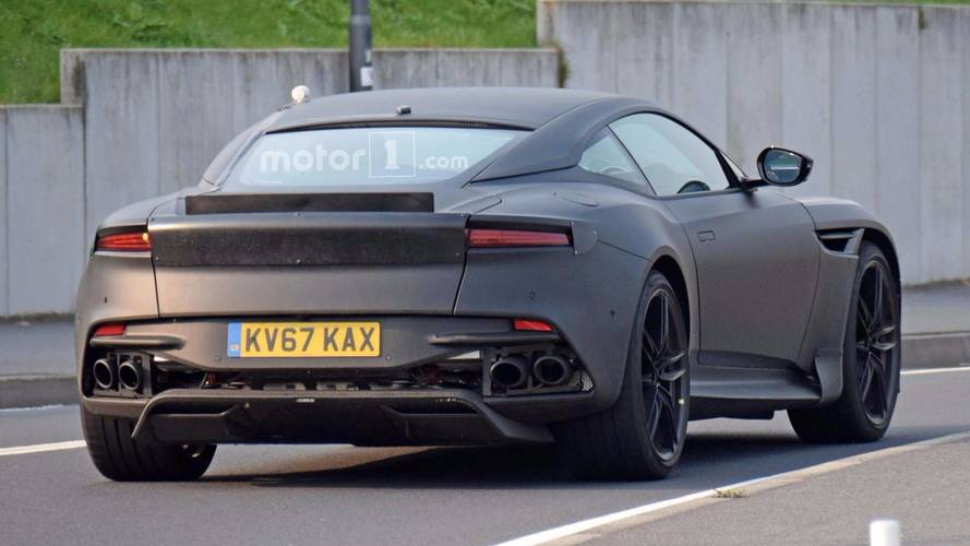 2019 Aston Martin Vanquish Spied Looking Mean At Nurburgring