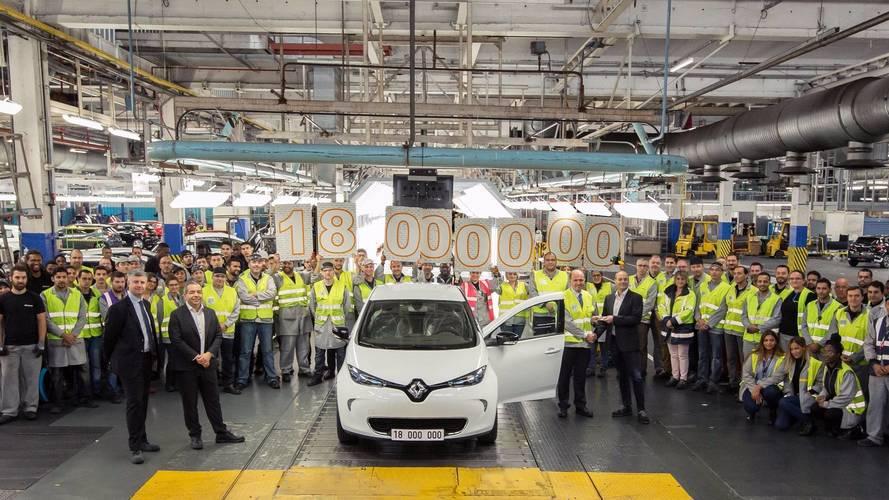 L'usine Renault de Flins a produit 18 millions de voitures