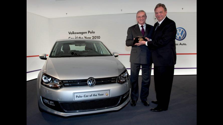 """Volkswagen Polo ha ricevuto il premio """"Auto dell'Anno 2010"""""""