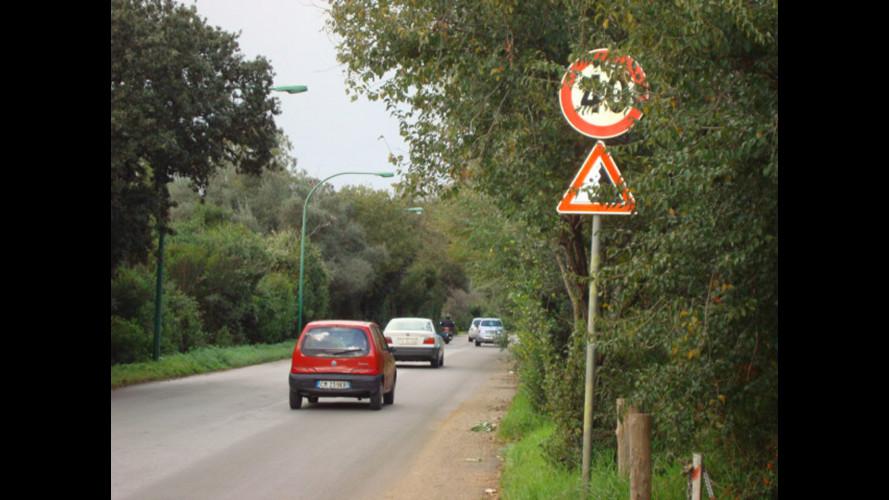 Segnali stradali: a Palermo il 77% è irregolare