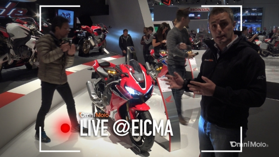 Honda CBR 1000 RR 2017 a EICMA 2016 [VIDEO]