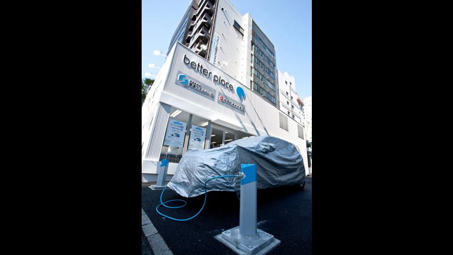 Il taxi elettrico debutta a Tokyo