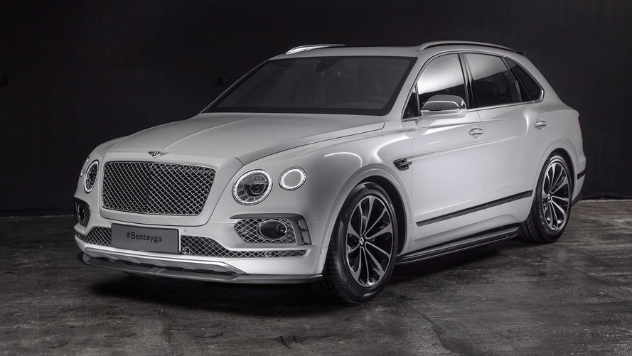 Be A Carbon Pro: Bentayga Gets Aggressive New Carbon Fiber Kit