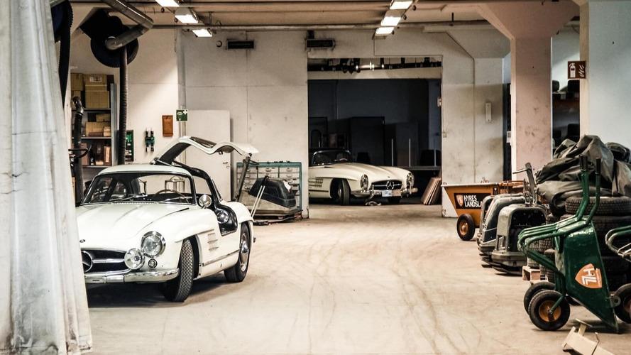 Deux Mercedes 300 SL stockées depuis 50 ans bientôt aux enchères