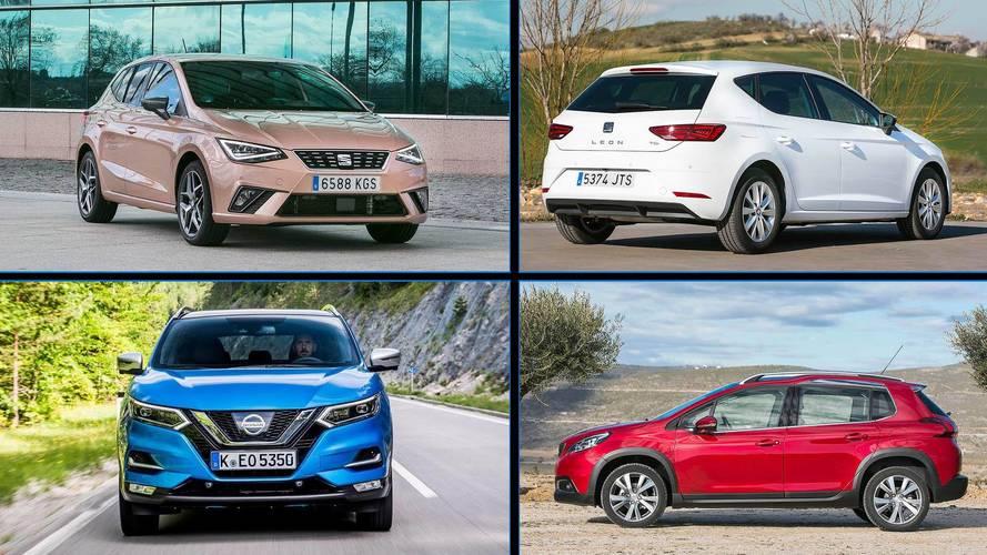 Conoce a los 10 coches más vendidos en abril