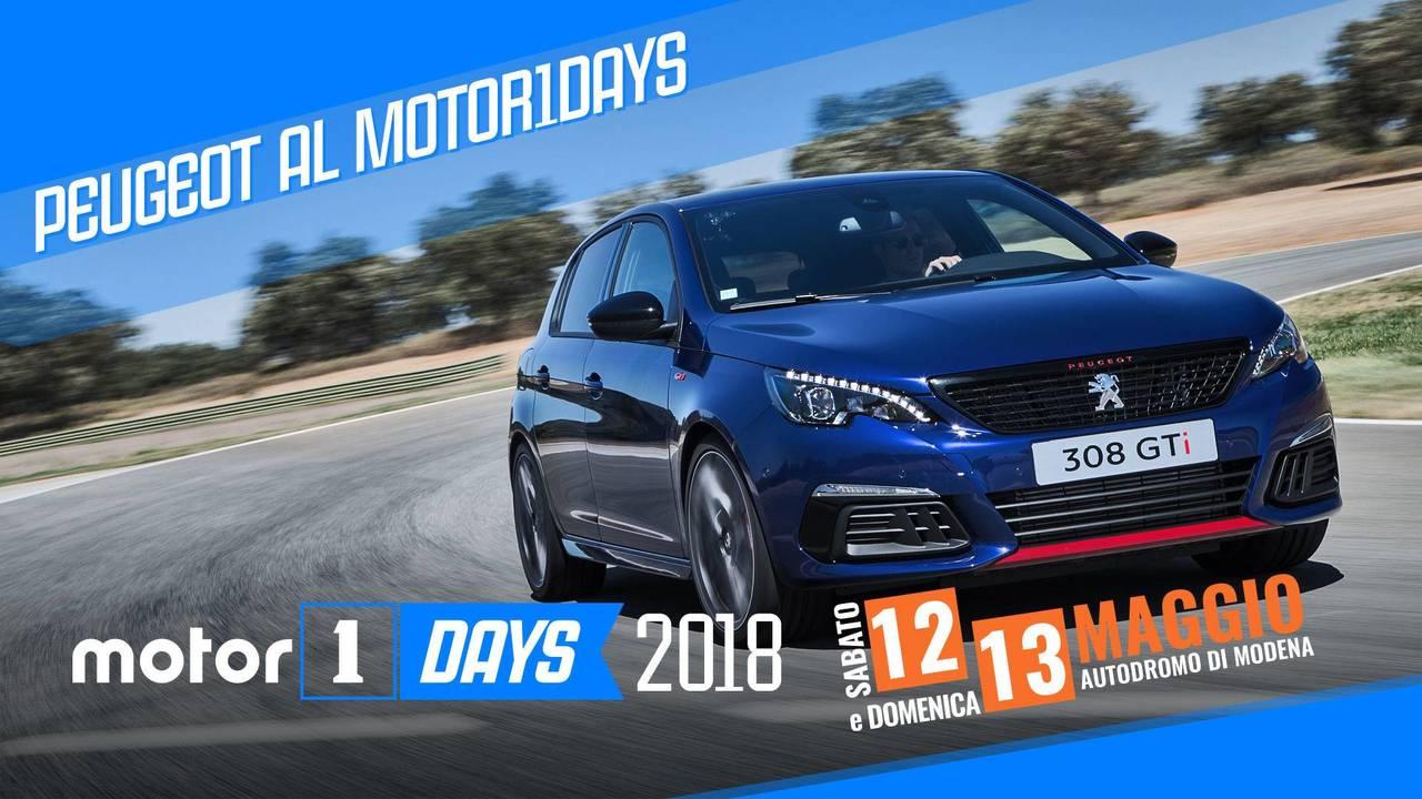 Peugeot al Motor1Days