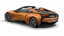 BMW i8 Roadster with aerodynamics package