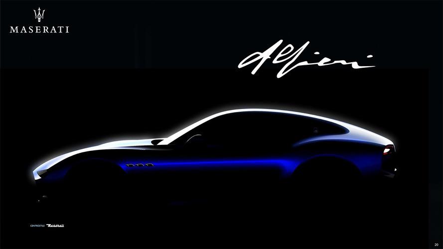 Maserati Alfieri'nin üretimi önümüzdeki yıl başlıyor