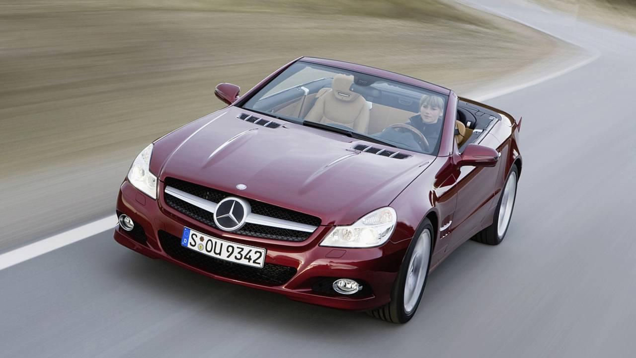 5. Mercedes-Benz SL-Class Convertible –6,217 miles