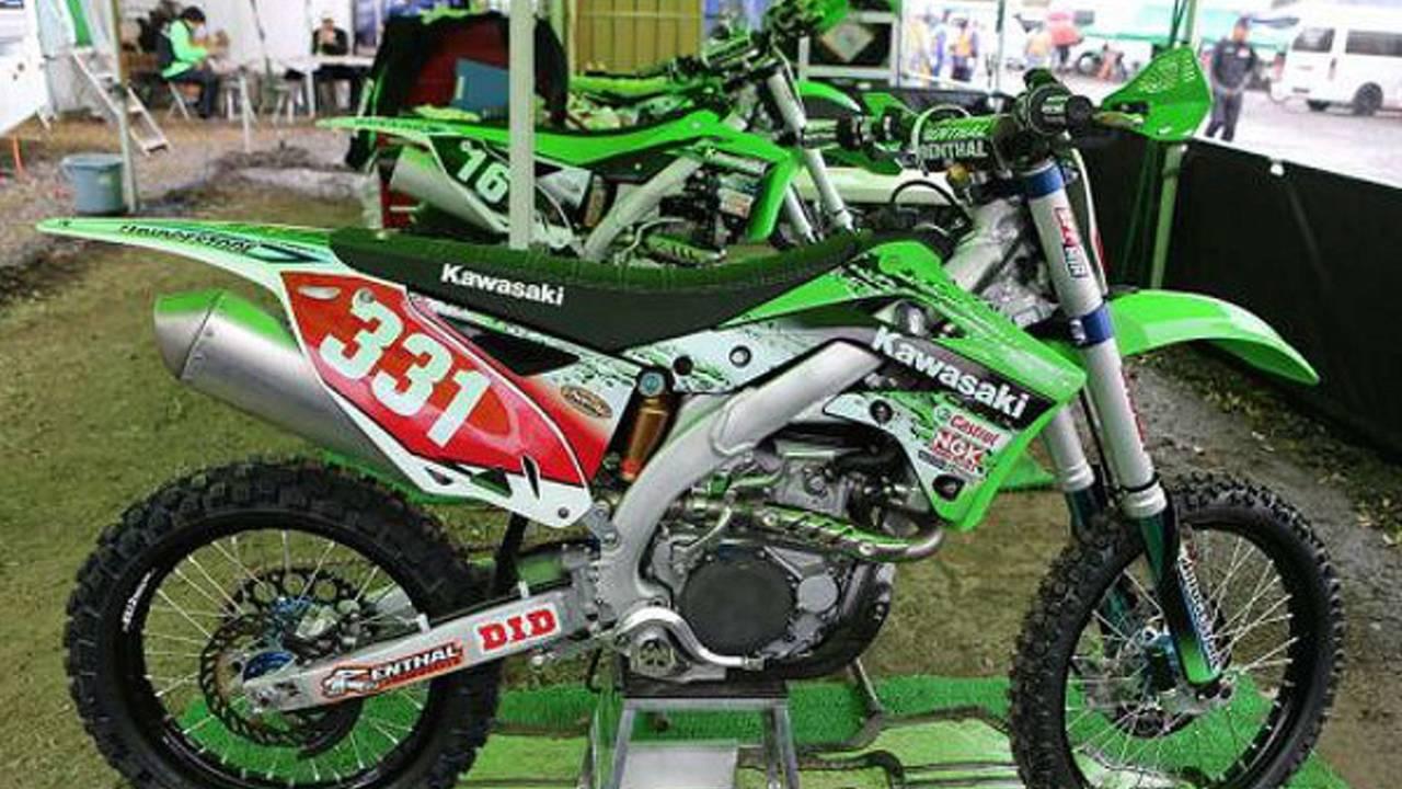 Spy Photos: 2014 Kawasaki KX250F