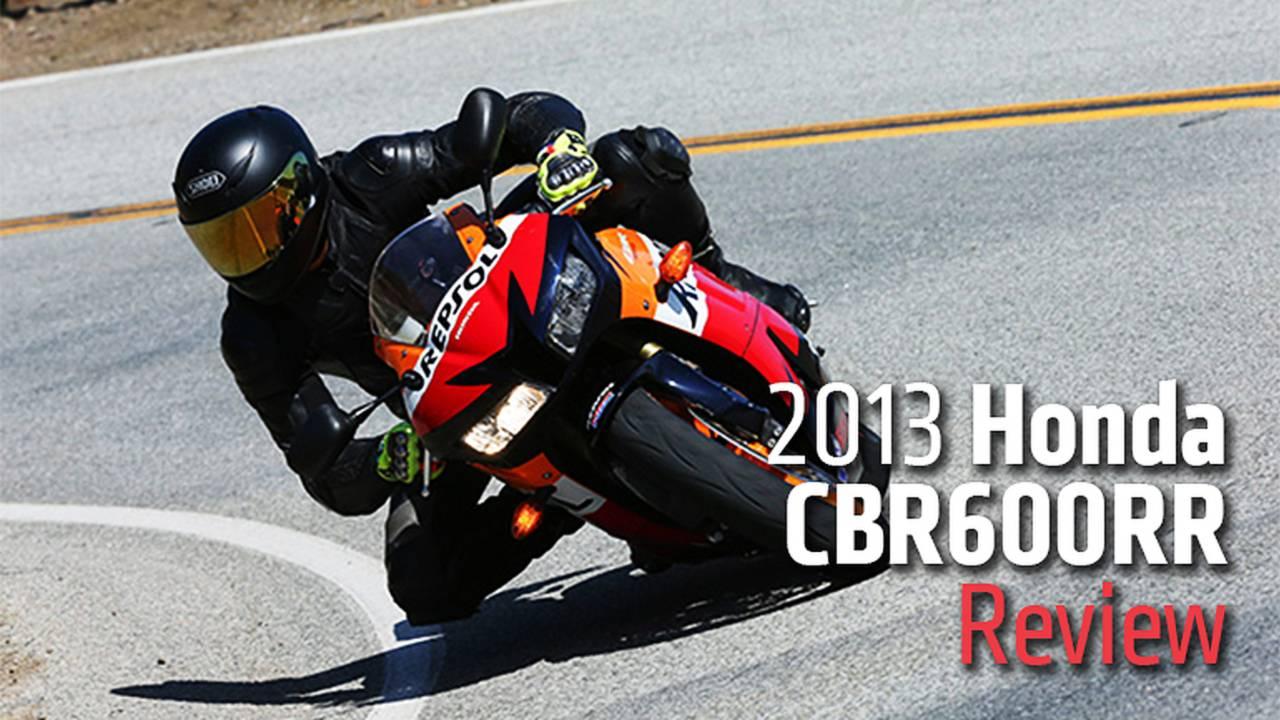 2013 Honda CBR600RR Review