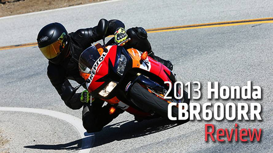 2013 Honda CBR600RR Review