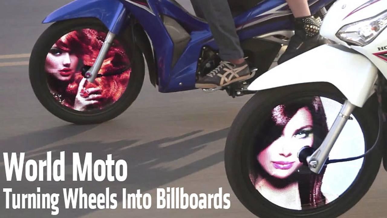 World Moto Aims To Turn Wheels Into Billboards