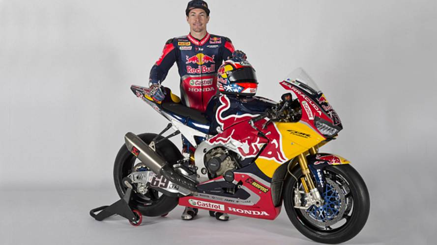 Nicky Hayden and the 2017 Redbull Honda WSBK Team