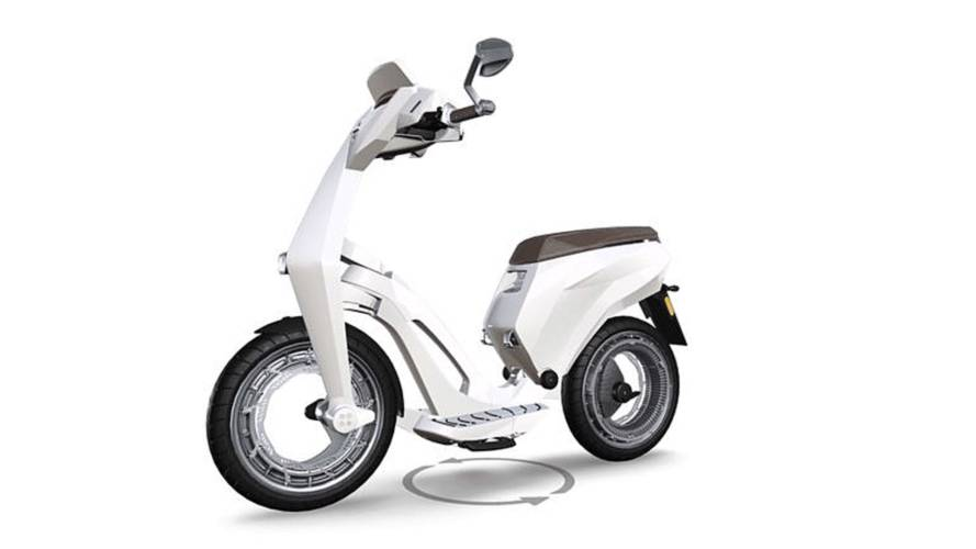 Slick New E-Scooter from Ujet Unveiled at CES 2018