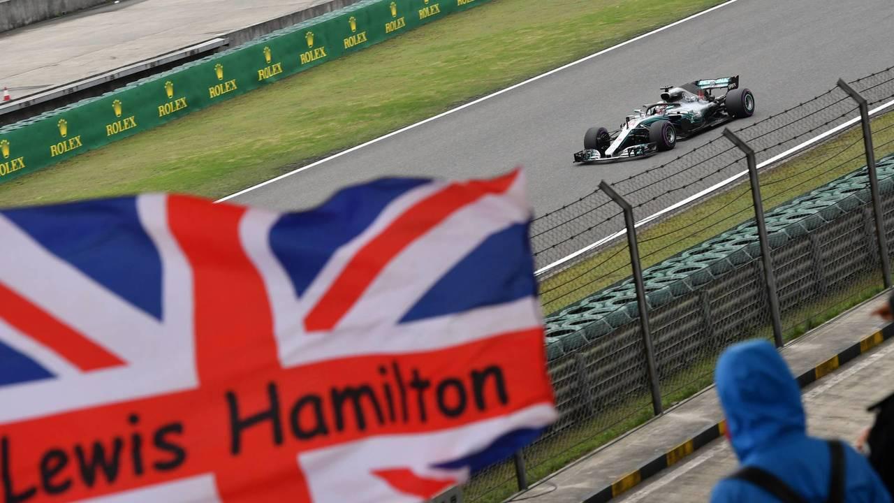 Bandera Mercedes AMG F1