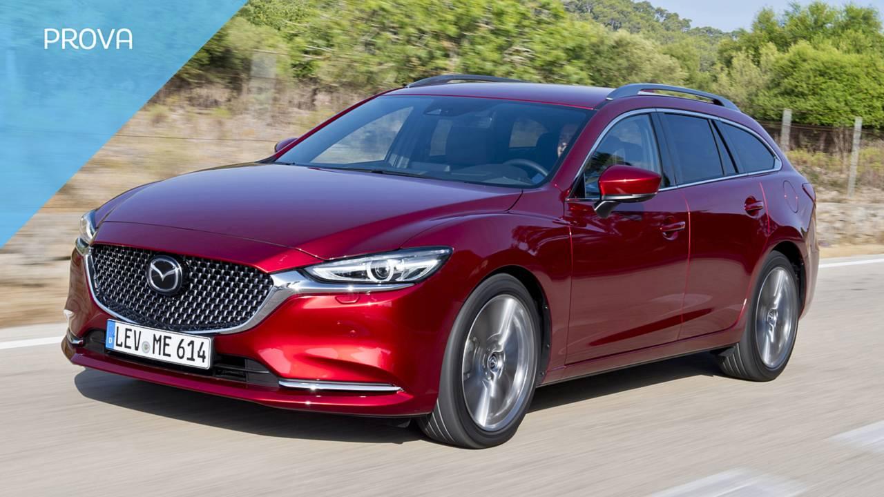 Mazda6 Wagon restyling 2018, la prova
