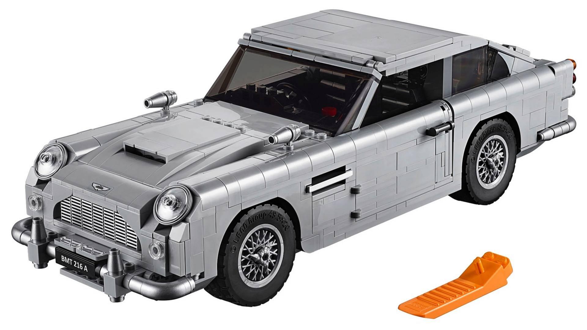 Lego James Bond Aston Martin DB Revealed - Aston martin db5 kit car