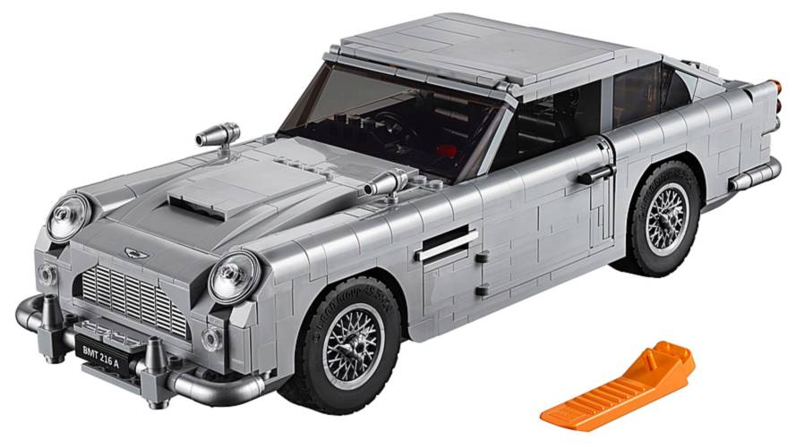 Aston Martin DB5 James Bond da Lego