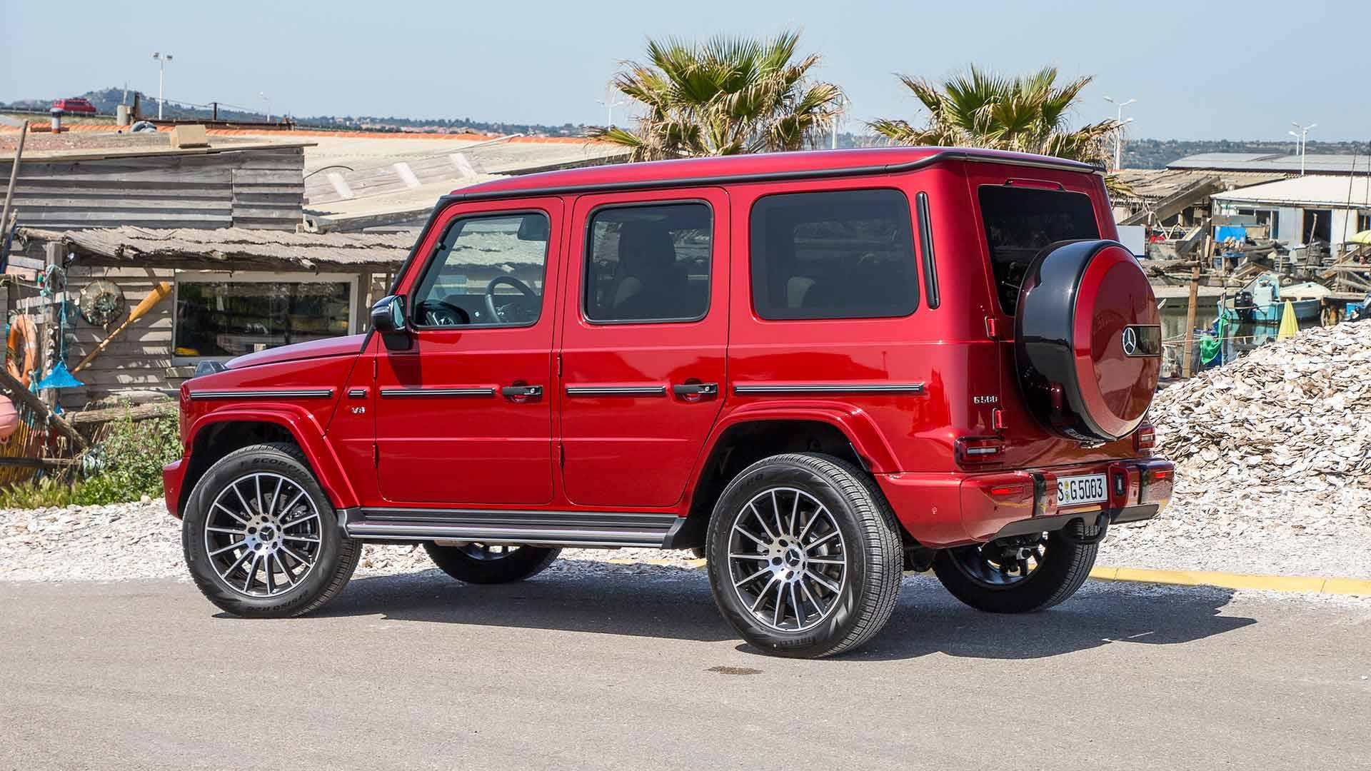 2019 Mercedes-Benz G550 First Drive: Brute Goes To ...