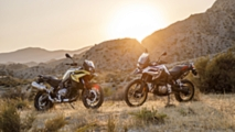 bmw brings new f750 and 850 gs models
