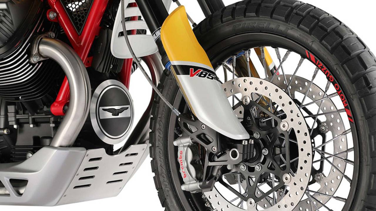 Moto Guzzi Brings the Adventure With the New Concept V85