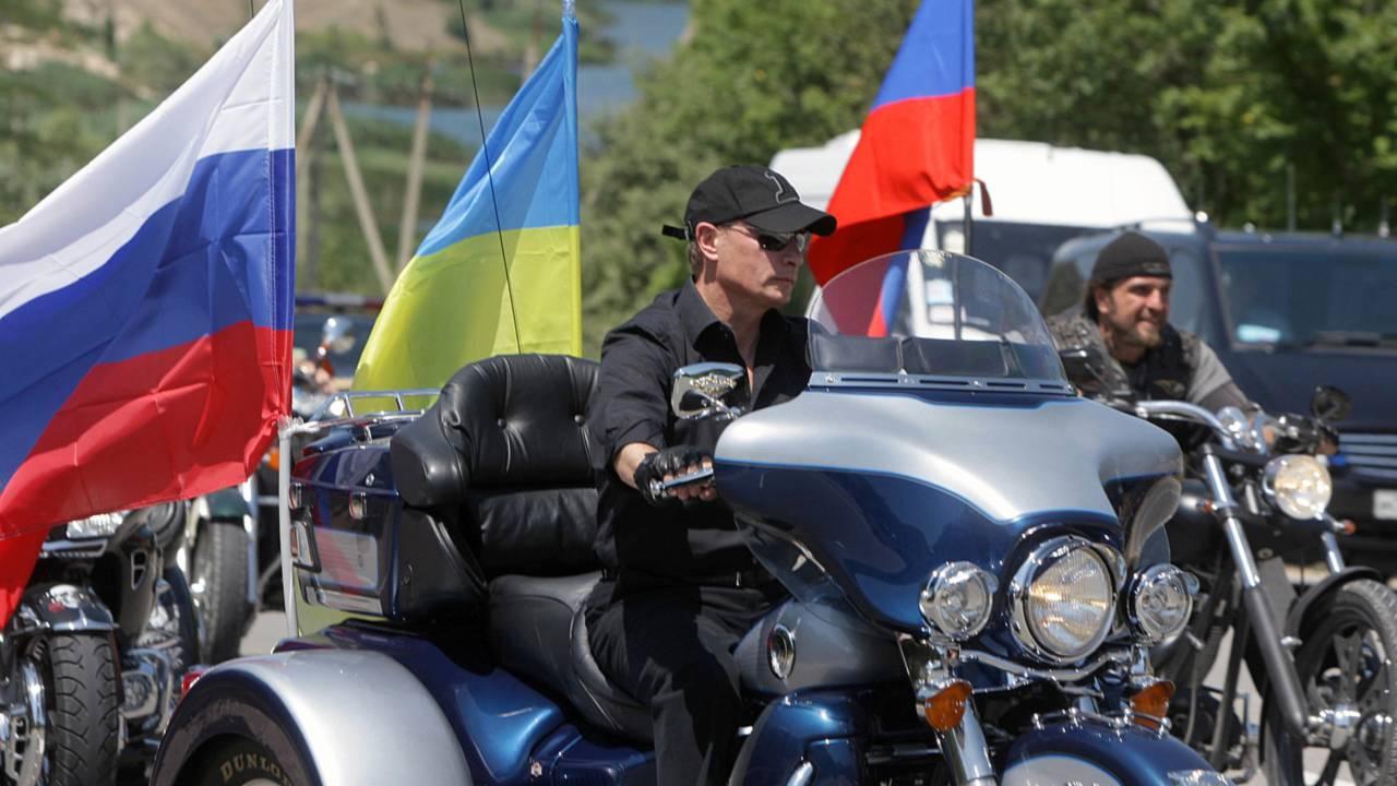 Vladimir Putin is One of Us: He Rides Bikes