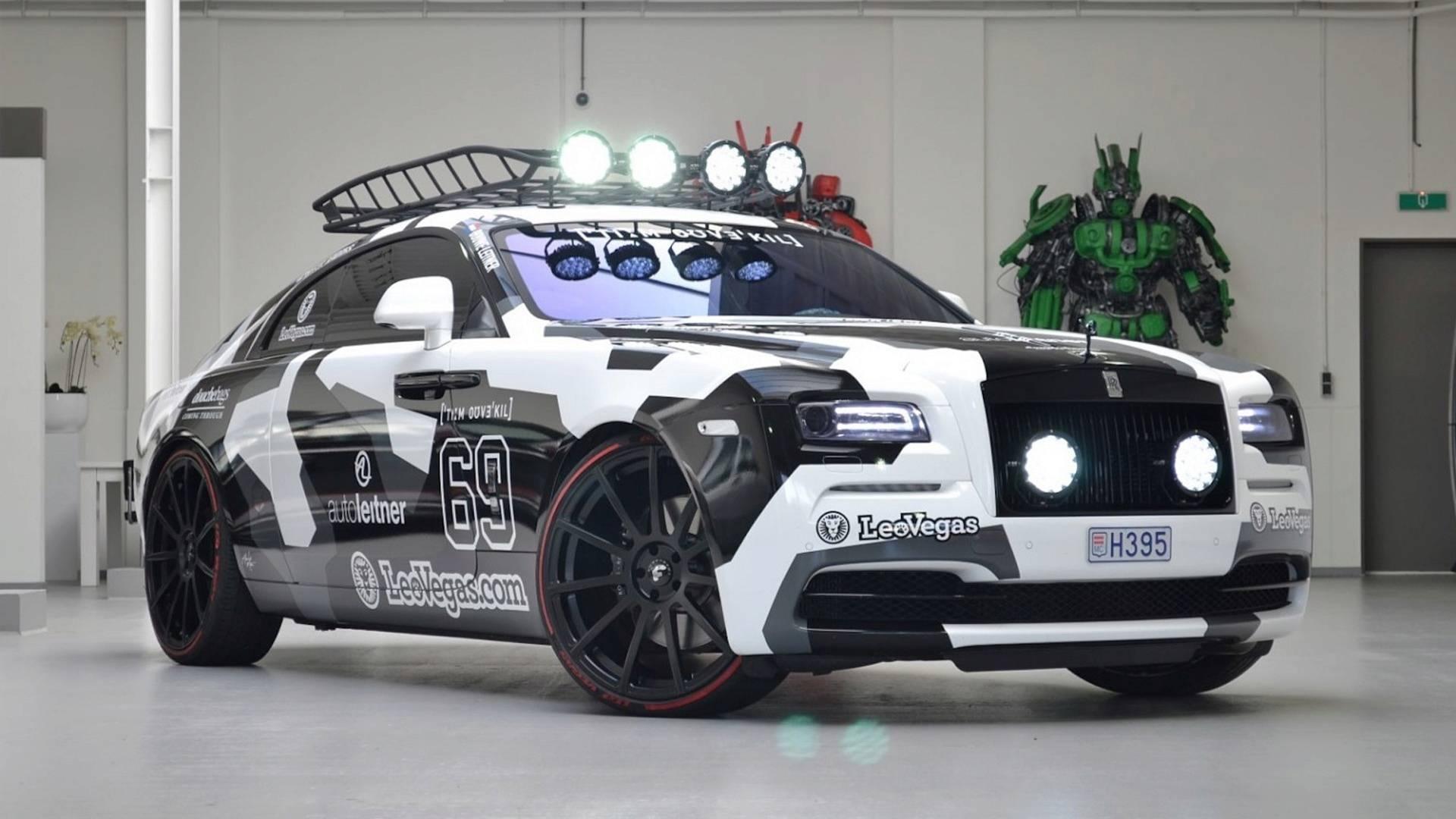 You Can Buy Jon Olssons Bonkers 810 Hp Rolls Royce Wraith