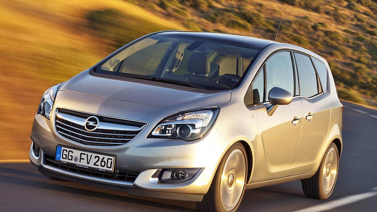 Platz 3: Opel Meriva
