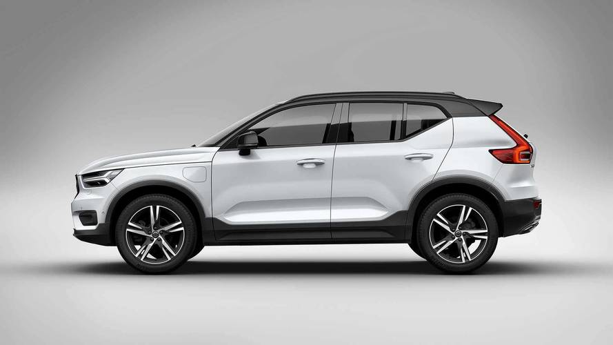 Plug-in hybrid Volvo XC40 revealed in China