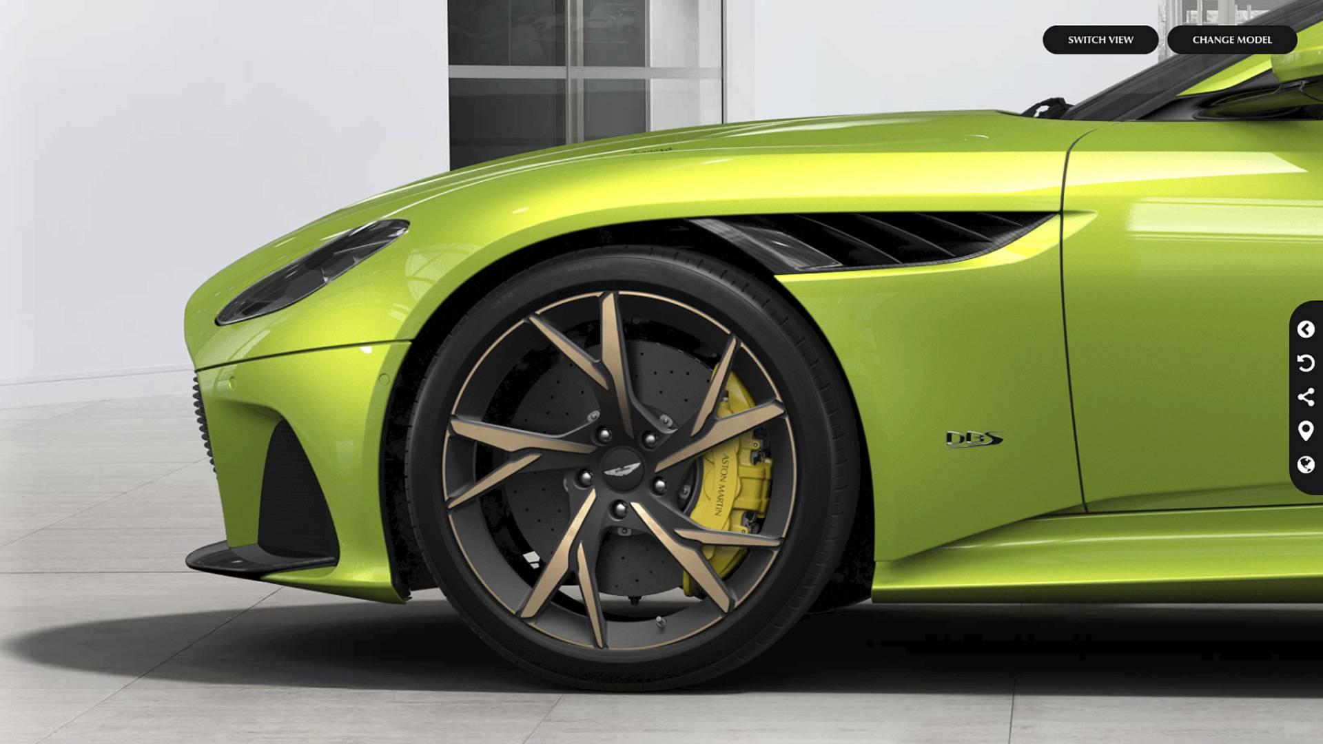 Aston Martin Dbs Superleggera Online Configurator Motor1 Com Photos