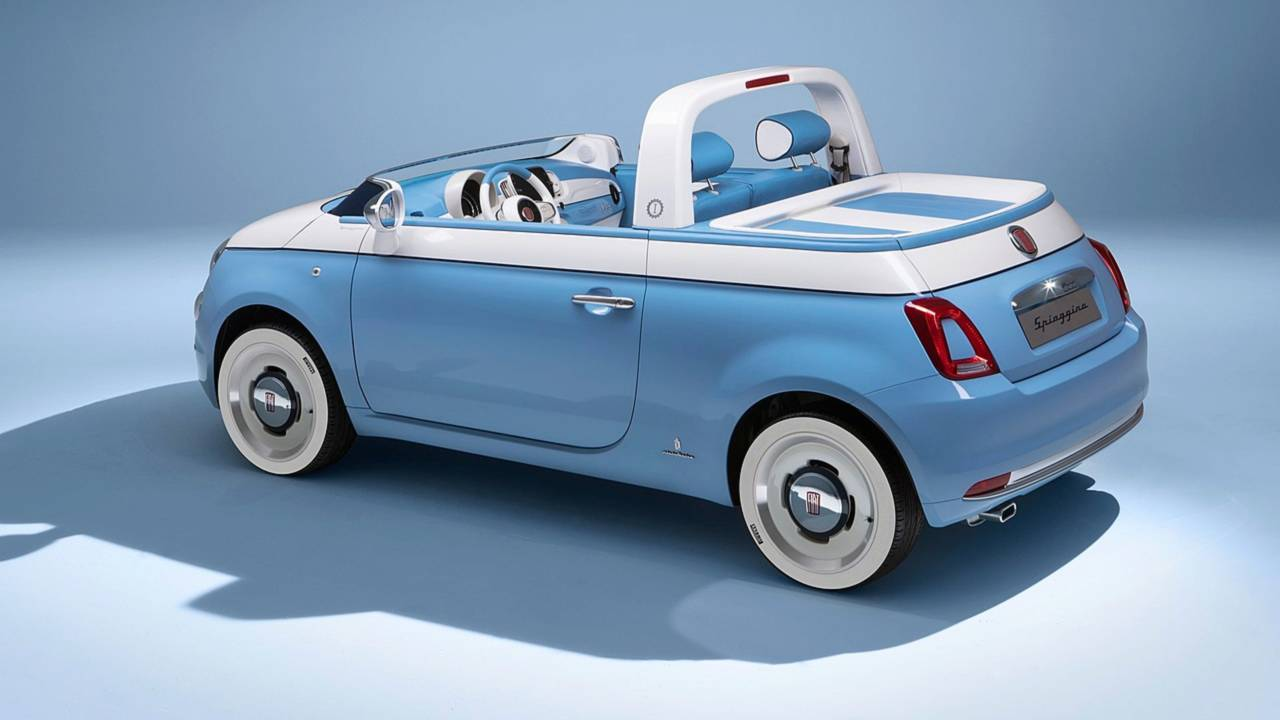 It Doesn T Get More Adorable Than This Fiat 500 Spiaggina