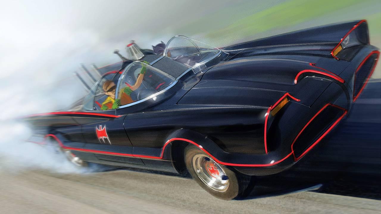 Your Favorite TV Cars Get The Fine Art Treatment