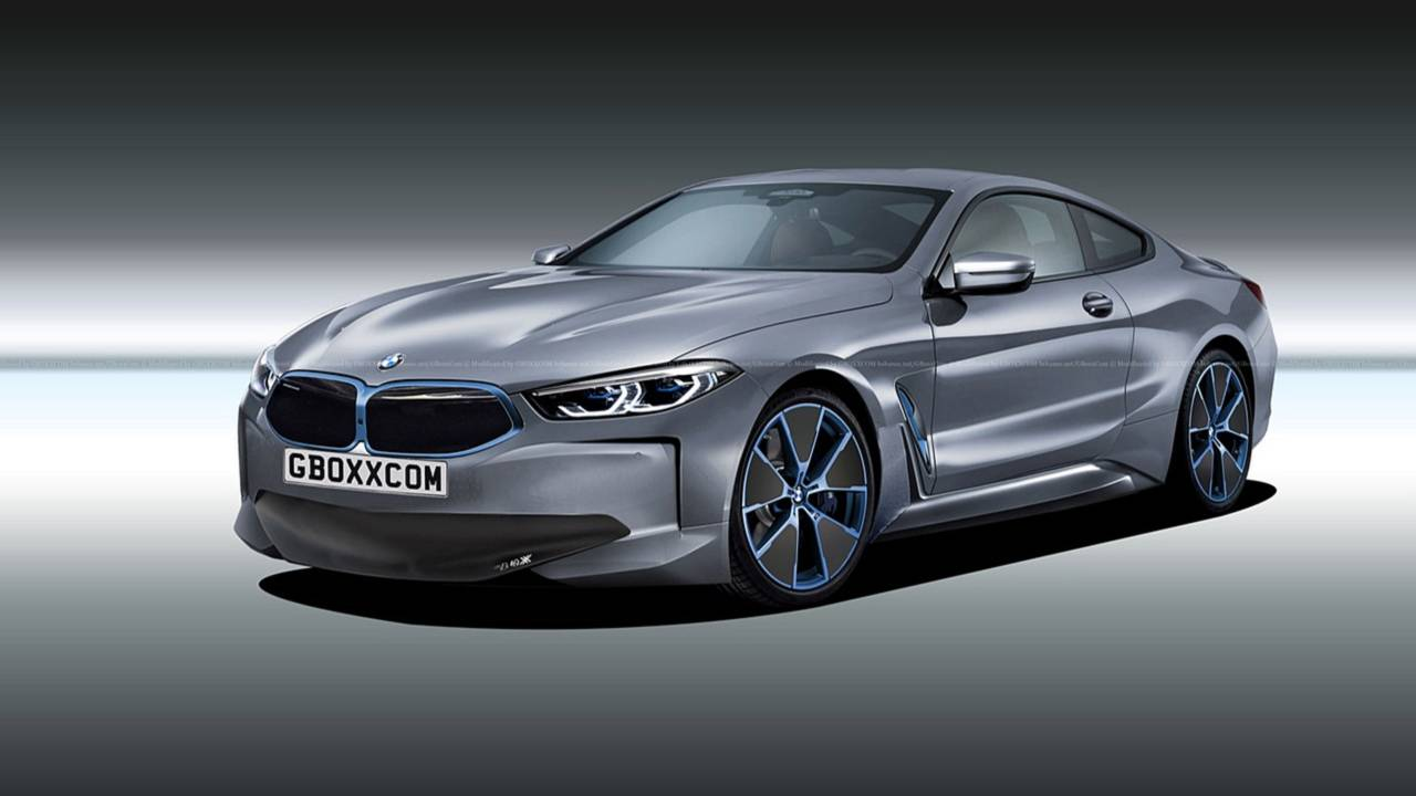 BMW 8 Series Electric