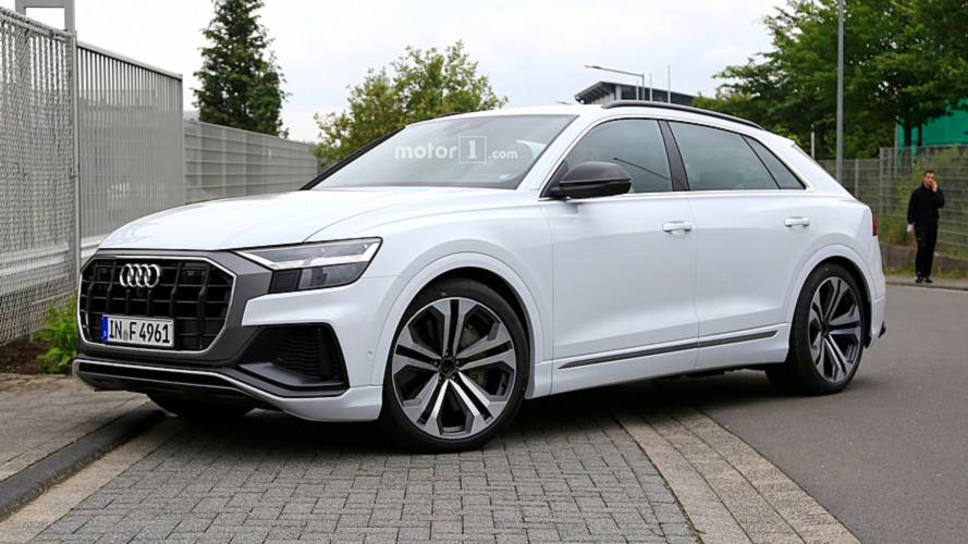 Audi SQ8 Spied Completely Uncovered With Subtle, Sporty Cues