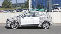 2019 VW T-Cross spy photo