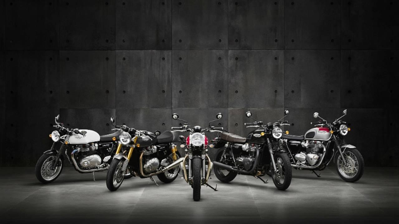 Triumph Announces Next Generation Of Motorcycles