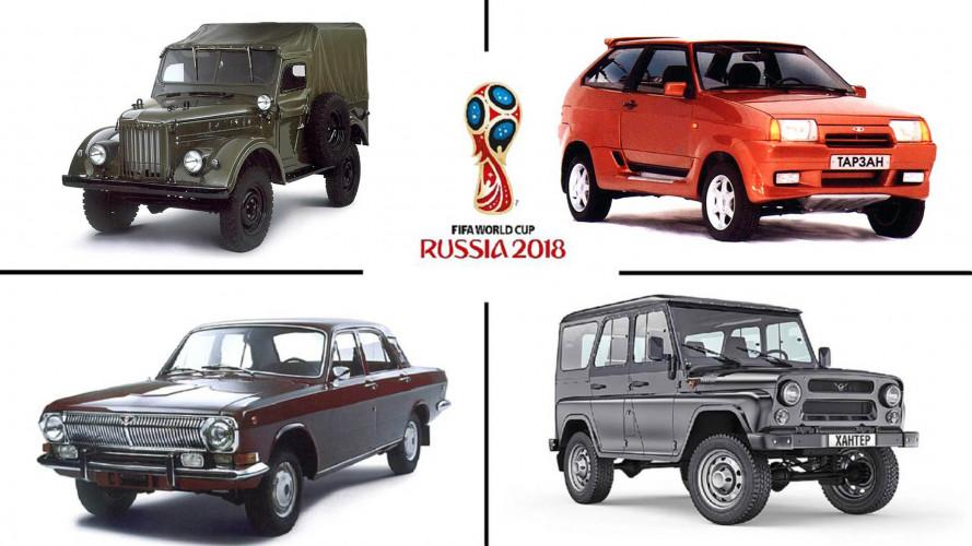 Auto-Triumphe der Sowjetunion