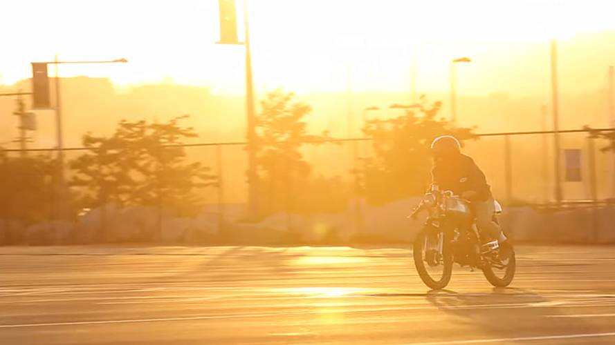 14-Year-Old's Journey of Building his First Motorcycle with his Dad - Video