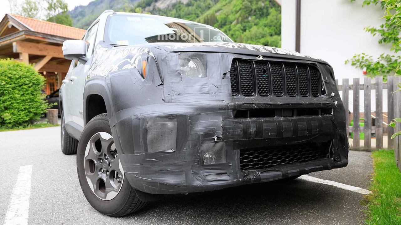 Jeep Renegade Refresh Spy Shots