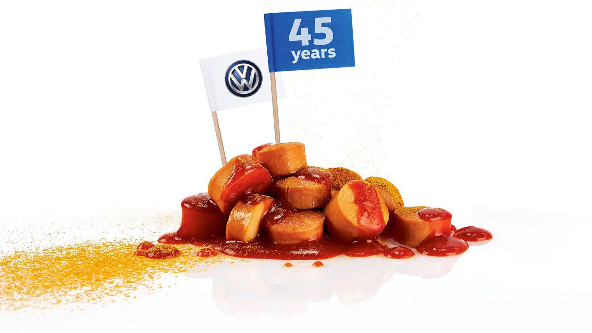 Volkswagen's best seller is... a sausage