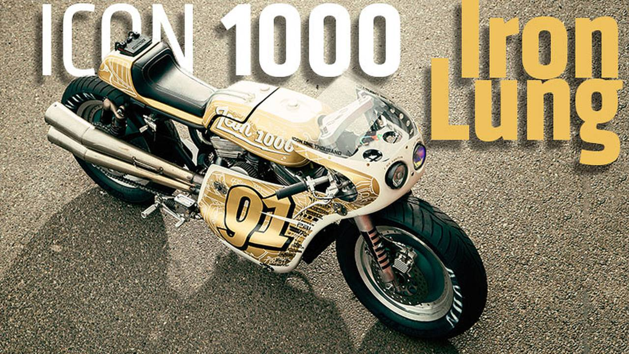 First Look: ICON 1000 Iron Lung Project Bike