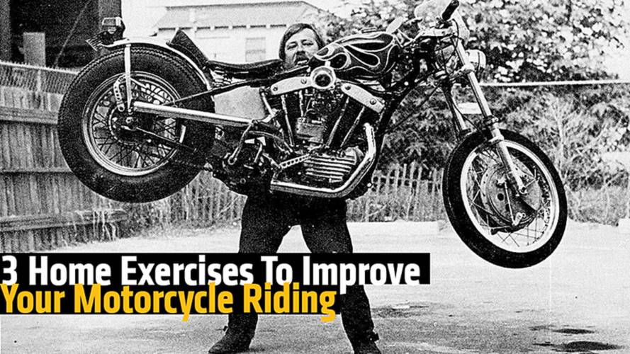 3 Home Exercises To Improve Your Motorcycle Riding