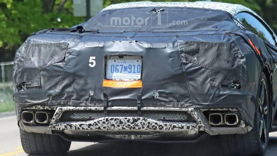 2020 Chevrolet Corvette Spy Photos