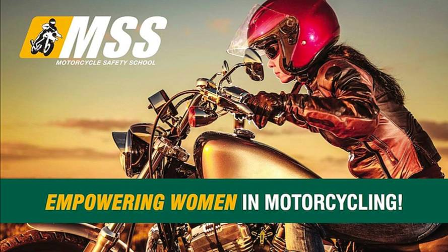 Motorcycle Safety School Encourages Woman to Ride