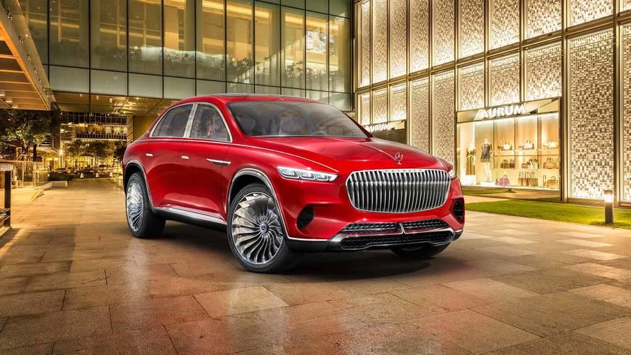 Maybach Vision Ultimate Luxury konsepti resmi olarak tanıtıldı